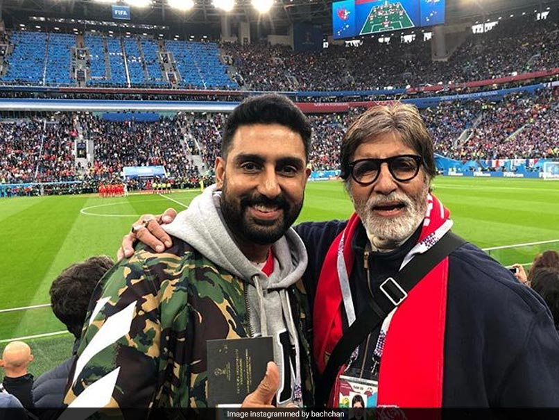 World Cup 2018: Amitabh Bachchan And Mukesh Ambani Spotted At Semi-Finals