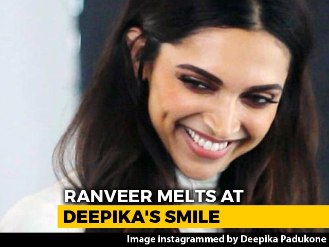 Video : As If Deepika's Smile Wasn't Enough To 'Melt' Hearts, Ranveer Said...