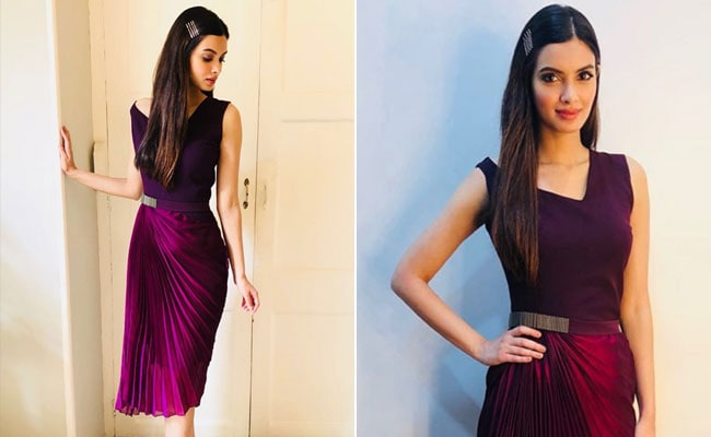 Diana Penty Works Up A Stylish Storm In Purple