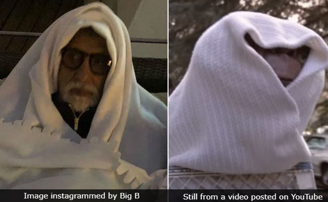 Amitabh Bachchan Wraps Up Warm In Cold Russia Just Like ET (As In The Extra-Terrestrial)