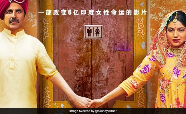 Toilet: Ek Prem Katha China Box Office - Akshay Kumar, Bhumi Pednekar's Film 'Starts Of Very Well'. Earns Over Rs 15 Crore On Opening Day