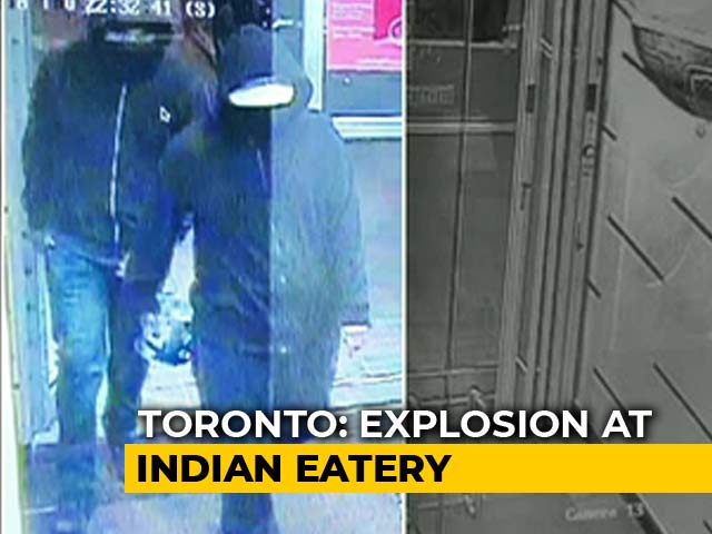 Video : 15 Injured In Explosion At Indian Eatery In Toronto, Cops Hunt For 2 Suspects