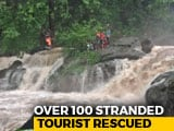 Video : 1 Dead, Over 100 Rescued From Waterfall Near Mumbai After Heavy Rain
