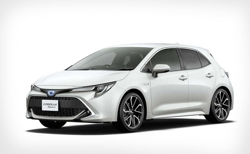 New Toyota Corolla Sport Unveiled For Japan