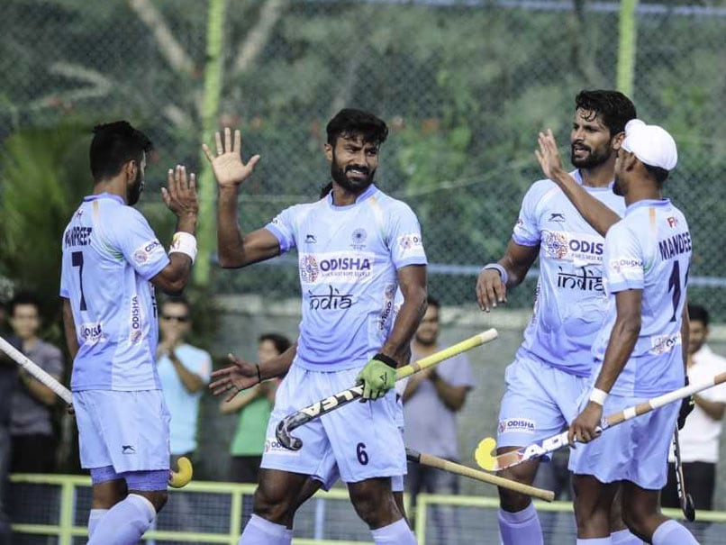 India Outclass New Zealand 4-0 In Men's Hockey Test Series