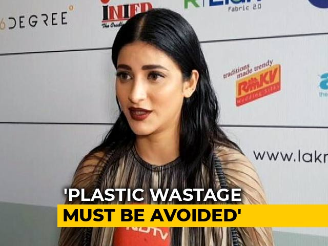 Video : Inspirational To See Unity During Kerala Floods Crisis: Shruti Haasan