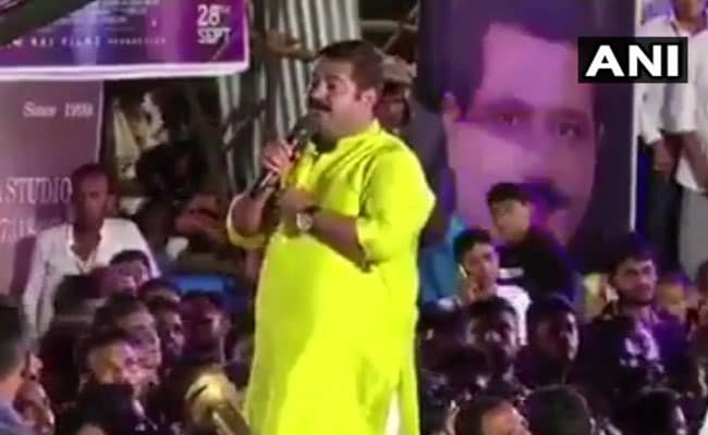कांग्रेस नेता का ऐलान, एमएलए राम कदम की जीभ काटने वाले को देंगे पांच लाख रुपये