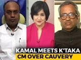 Video : Kamal Haasan's Karnataka Mission: Cauvery trumps <i>'Kaala'</i>