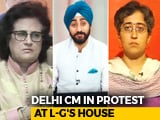 Video : Arvind Kejriwal Protests At Lt Governor's House: Return Of Dharna Politics?