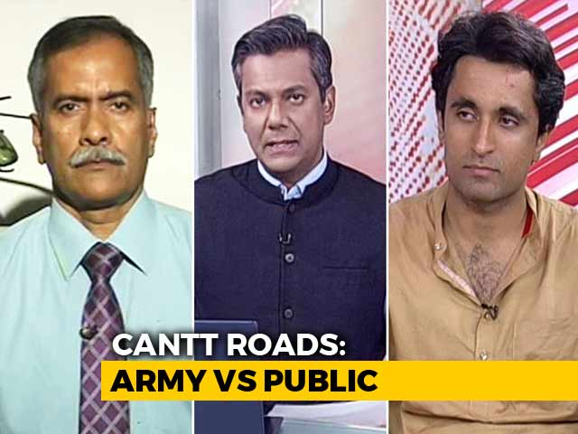 Video : Should Roads In Army Cantts Remain Open For Public?