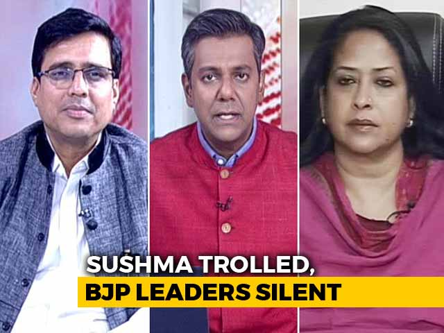 Video : Can Sushma Swaraj Win Battle Against Trolls By Taking On Them Directly?