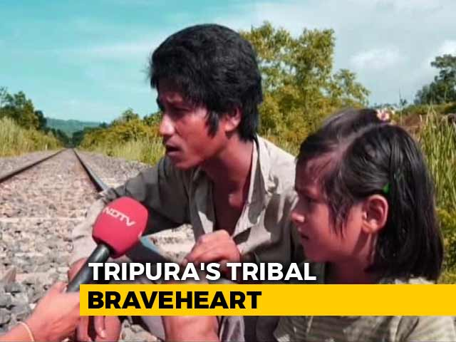 "Video : ""Risking 2 Lives Worth Saving 2000"": Tripura Man Who Averted Train Mishap"