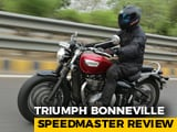 Triumph Bonneville Speedmaster Review