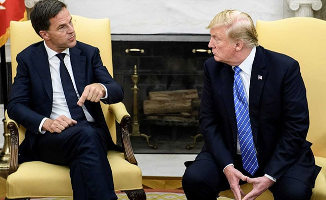 Donald Trump Gets Dose Of Dutch Bluntness From Visiting Prime Minister