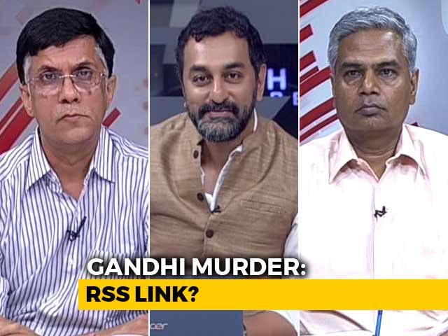 Video : RSS Role In Gandhi Murder: Truth Or Hype?