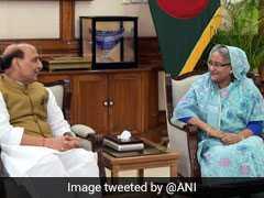 Rajnath Singh, Sheikh Hasina Meet, Discuss Bilateral Concerns