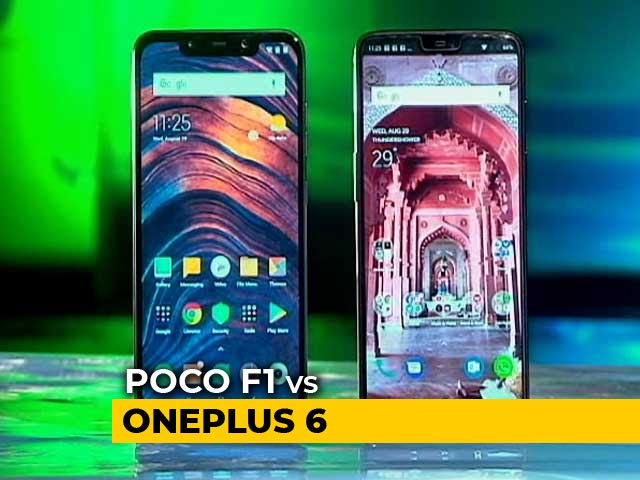 Video : Poco F1 vs OnePlus 6: Which Wins?