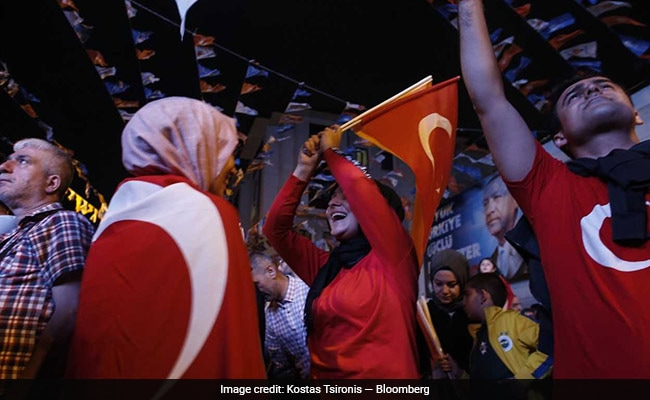 Erdogan wins re-election in Turkish polls Photogallery