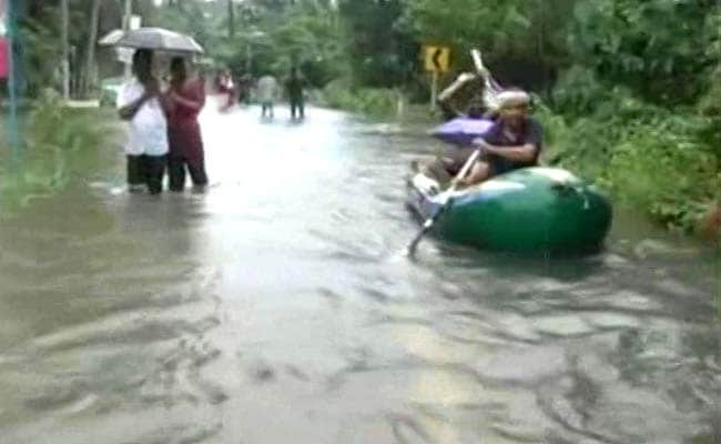 Rescuers Work To Evacuate Stranded People In Kerala After Heavy Rain