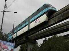Mumbai Monorail, Back On Track After 10 Months, Hits A Snag On Day 2