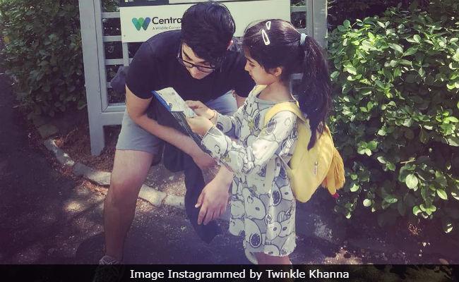 Akshay Kumar's Daughter Nitara Is A 'Boss Baby.' Mom Twinkle Khanna Gives Proof