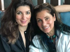 Twinkle Khanna's Birthday Post For Mom Is As 'No Filter' As Dimple Kapadia