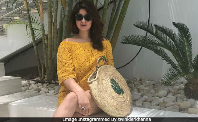 Twinkle Khanna Plays 'The Mother Card' To Get Son Aarav Click Her Pic. Here's The Story