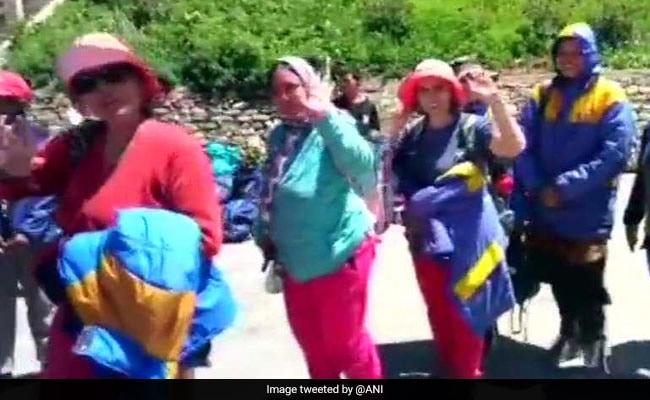1,225 Stranded Kailash Mansarovar Pilgrims rescued from Nepal's Simikot