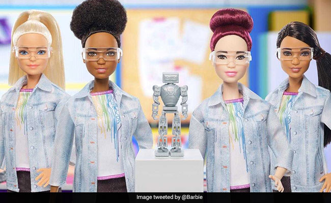New Robotics Engineer Barbie Hopes To Inspire Young Scientists