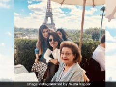 Rishi Kapoor And Neetu's Paris Vacation Continues Without Ranbir Kapoor