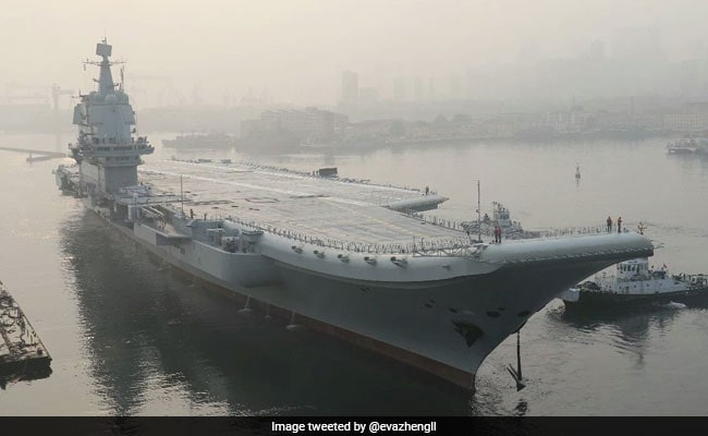 China's First Home Built Aircraft Carrier To Embark On Second Sea Trial