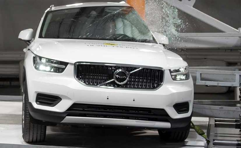 Volvo XC40 Achieves Five Star Rating In Euro NCAP Crash Test