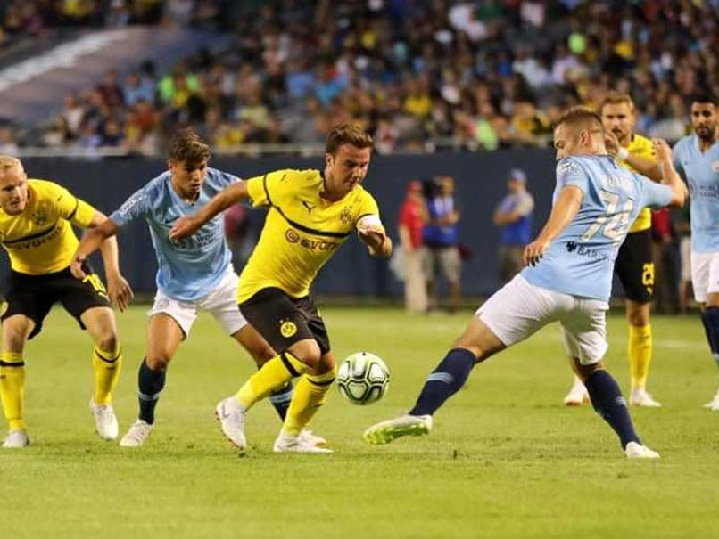 Manchester City Lose To Borussia Dortmund In International Champions Cup Opener
