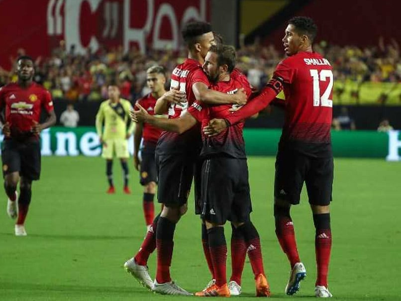 Juan Mata Salvages Draw As Manchester United Open North American Tour