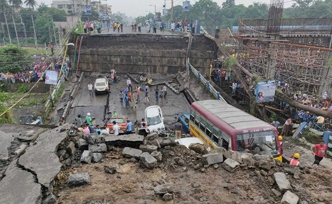 Kolkata Bridge Collapse Leads To Political Mudslinging