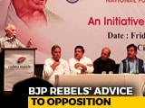 "Video : ""Don't Divide Votes, Fight Together"": BJP Rebels' Advice To Opposition"