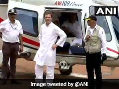 Rahul Gandhi Delays Trip To Let Air Ambulance Fly Before Him In Kerala