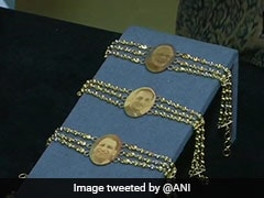 Gold <i>Rakhis</i> At Rs 50,000 With PM Modi And Yogi Adityanath's Pictures