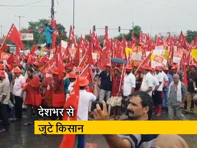 Videos : बड़ी खबर: मजदूरों-किसानों का संसद मार्च