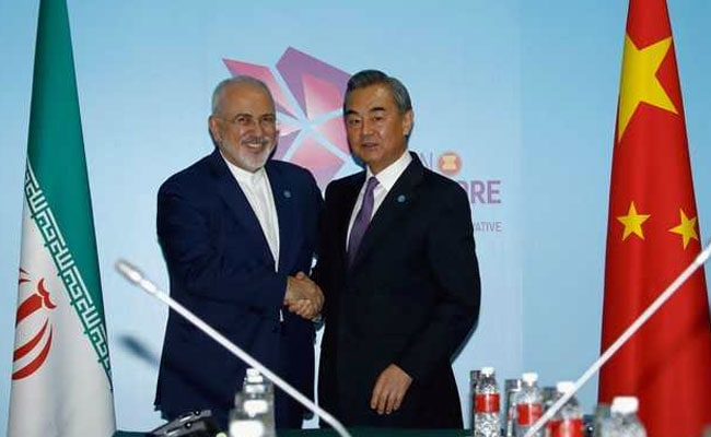 China 'Pivotal' To Salvaging Its Nuclear Deal: Iran Foreign Minister