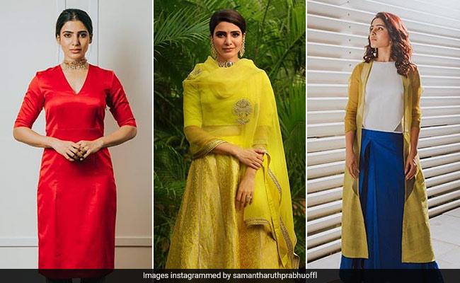 7b1cffade6d6e Samantha Ruth Prabhu Loves Her Share Of Bold Colours