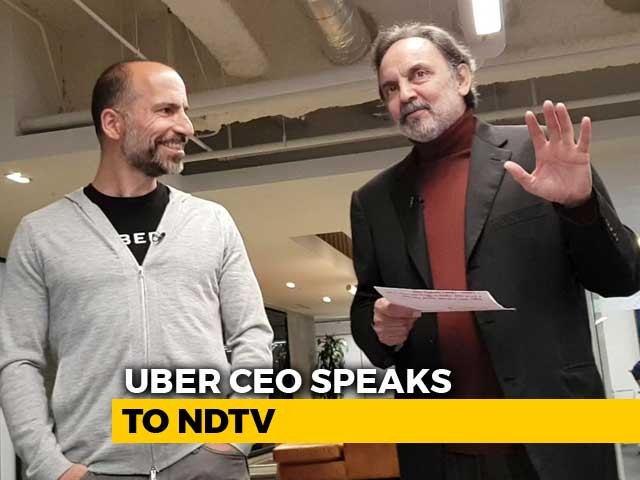 Video : Uber CEO Dara Khosrowshahi Speaks To NDTV's Prannoy Roy