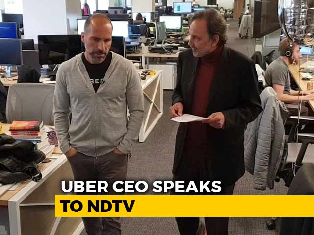 Video : Uber CEO Dara Khosrowshahi's Favourite Things About India