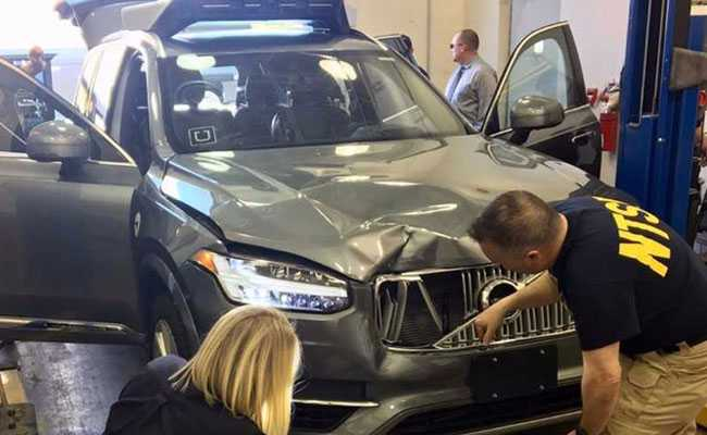 Uber Self Driving Car Failed To Recognize Pedestrian Brake Says US Agency