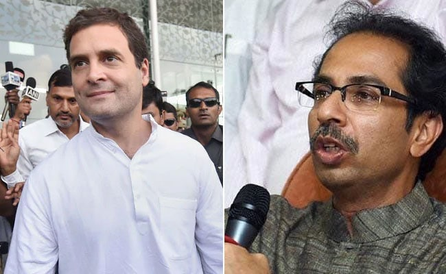 Image result for uddhav thackeray on rahul gandhi