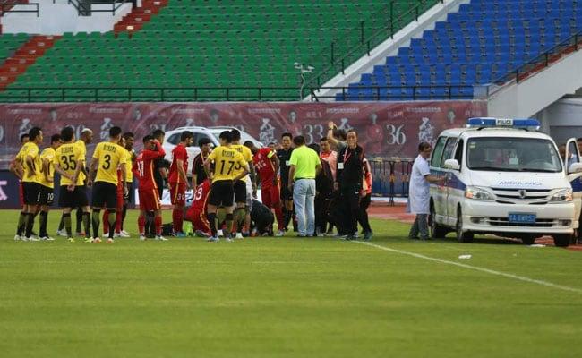 Footballer Lay Unconscious As Medics Struggled With Jammed Ambulance Door