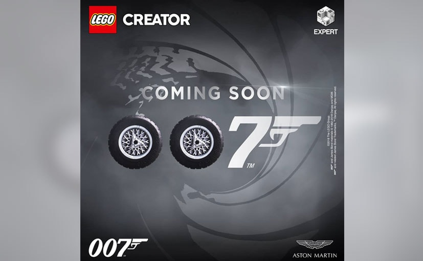 The Aston Martin Lego box assembly set will be launched on 18 July, 2018