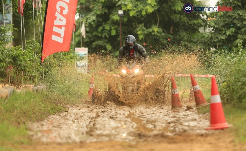 Learning the nuances of riding off-road is sheer motorcycling joy