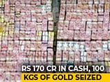Video : In One Of India's Biggest Tax Haul, 170 Crore Seized In Tamil Nadu Raids