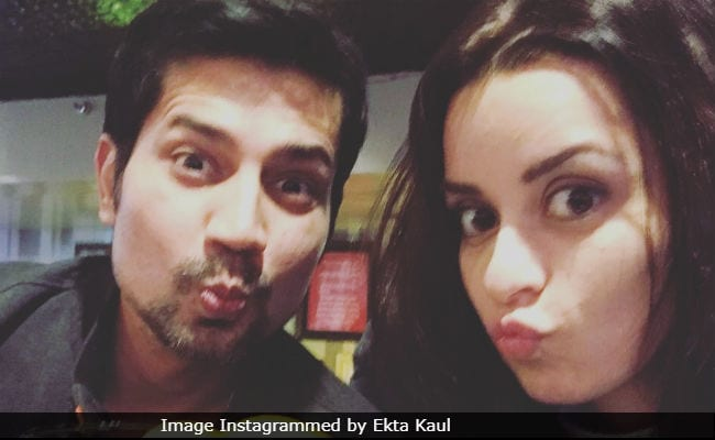 Ekta Kaul's Message For Fiance Sumeet Vyas Is Too Cute To Be Missed